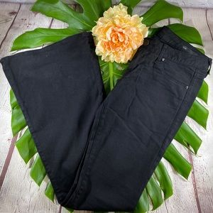 William Rast Black Wide Leg Pants